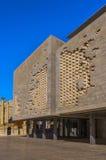 Malta - Streets of Valletta. Modern building of the Maltese Parliament - Valletta, Malta Stock Photos