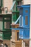 Malta, Streets of Valletta Stock Photography