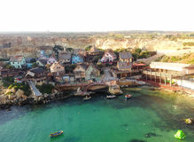 Malta in summer. Malta popeye village summer fanous Royalty Free Stock Photography