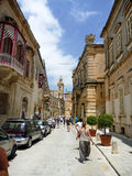 Malta in summer. Streets, architecture, buildings in malta Stock Photos