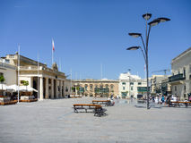Malta in summer. Streets, architecture, buildings in malta Royalty Free Stock Photo