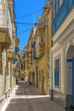 Malta - Three Cities. Collacchio, the most atmospheric district in the three historic cities of Vittoriosa (Birgu), Senglea (Bormla) and Cospicua (Isla) Royalty Free Stock Image