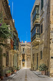 Malta - Three Cities. Collacchio, the most atmospheric district in the three historic cities of Vittoriosa (Birgu), Senglea (Bormla) and Cospicua (Isla) Royalty Free Stock Photography