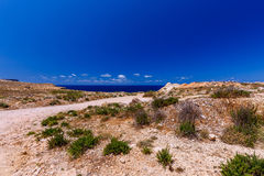 Malta. Typical landscape. A typical landscape on the coast of Malta Stock Image