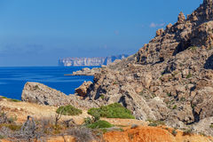 Malta., Typical, landscape. A typical landscape on the coast of Malta Royalty Free Stock Photo