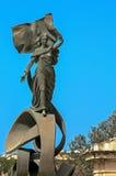 Malta, ulicy Floriana Zdjęcia Royalty Free
