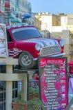 Malta, ulicy Qawra Zdjęcia Royalty Free