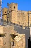 Malta, ulicy St Pauls zatoka Obrazy Stock