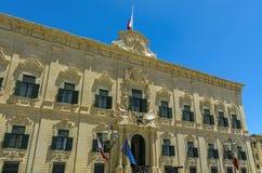Malta, ulicy Valletta Zdjęcie Royalty Free