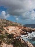 Malta väg Fotografering för Bildbyråer