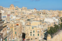 Malta - Valletta Arkivfoton