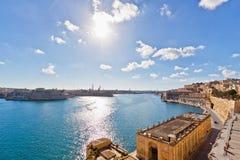 Malta - Valletta Arkivbild