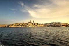 malta valletta Royaltyfria Bilder