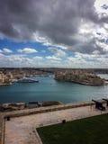 malta valletta Royaltyfri Fotografi