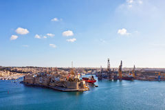 Malta - Valletta Stock Photo