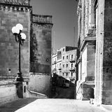 Malta. Valletta town during the day Stock Photography