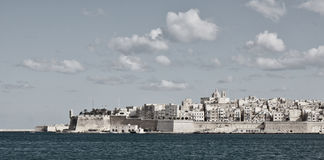 Malta - Valletta. View from the harbour Stock Images