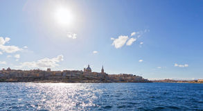 Malta - Valletta. View from the harbour Royalty Free Stock Photography