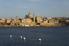 Old town of Valletta on Malta Stock Photo