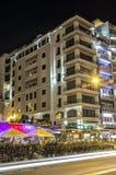 Malta - vie di Sliema fotografia stock