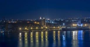 Malta - Panorama of Three Cities Stock Photos