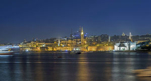 Malta - Panorama of Valletta Stock Images