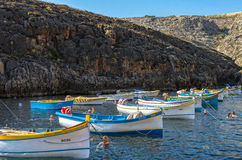 Malta - Views of Wied iż-Żurrieq Royalty Free Stock Photography