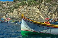 Malta - Views of Wied iż-Żurrieq Royalty Free Stock Photos