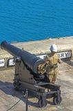 Malta, vistas de Valletta Fotos de Stock