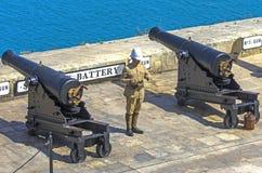 Malta, vistas de Valletta Imagens de Stock