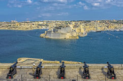 Malta, vistas de Valletta Imagem de Stock