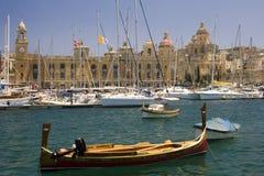 malta vittoriosa obraz royalty free
