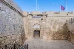 Malta at War Museum in Vittoriosa, Malta Stock Photo