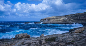 Malta. Wonderful place in Malta, such an amazing landscape Royalty Free Stock Photos