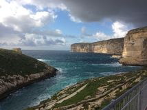 Malta wybrzeże fotografia royalty free