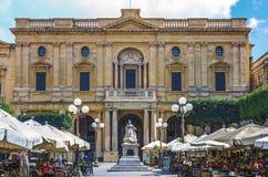 Malte - la Reine Victoria Photographie stock libre de droits
