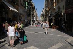 Malte, la ville pittoresque de La Valette Image stock