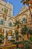 Malte, le grand palais principal de La Valette Images libres de droits