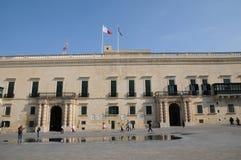 Malte, le grand palais principal de La Valette Photos libres de droits