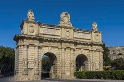 Malte, rues de Floriana Photographie stock