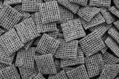 Malted предпосылка хлопий для завтрака печениь пшеницы Стоковая Фотография RF