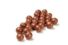 Malted milk balls Royalty Free Stock Image