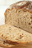 Malted wholemeal loaf. A traditionally baked Malted wholemeal loaf Royalty Free Stock Photo