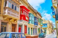 Maltese architecture of Rabat stock photo
