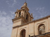 Maltese architecture. Tower in malta Stock Image