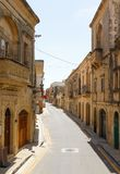 Maltese architecture in Valletta, Malta Royalty Free Stock Photography