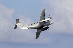 Maltese Armed forces KingAir Royalty Free Stock Photography
