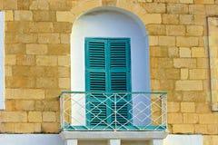 Maltese balconies. Traditional Balconies in Mdina, Malta Royalty Free Stock Photos