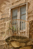 Maltese balcony Royalty Free Stock Photos