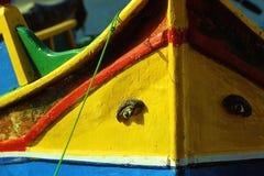 Maltese boat Stock Image